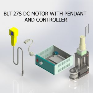 BLT 27S DC MOTOR WITH PENDANT AND CONTROLLER
