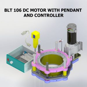 BLT 106 DC MOTOR WITH CONTROLLER