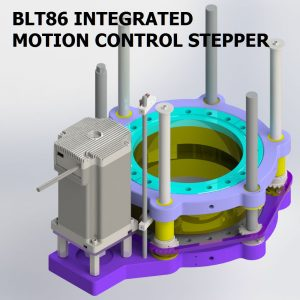 BLT86 INTEGRATED MOTION CONTROL STEPPER