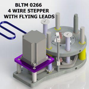 BLTM 0266 4 WIRE STEPPER