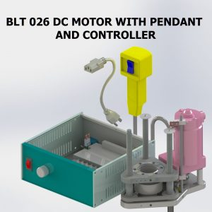 BLT 026 DC MOTOR WITH CONTROLLER