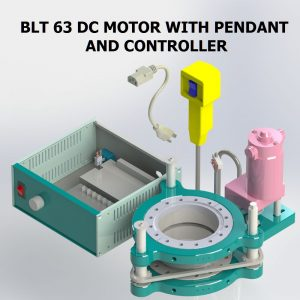 BLT 63 DC MOTOR WITH CONTROLLER