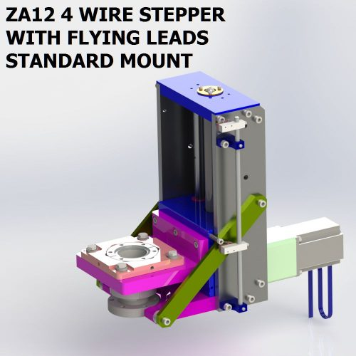 ZA12 4 WIRE STEPPER BACK