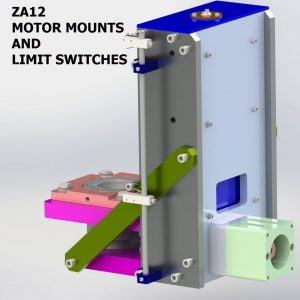ZA12 MOTOR MOUNTS
