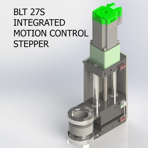 BLT 27S INTEGRATED MOTION CONTROL STEPPER