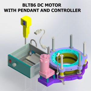 BLT86 DC MOTOR WITH CONTROLLER AND PENDANT