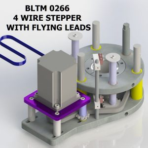 BLTM 0266 4 WIRE STEPPER