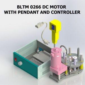BLTM 0266 DC MOTOR AND CONTROLLER