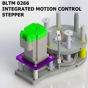 BLTM 0266 INTEGRATED MOTION CONTROL STEPPER