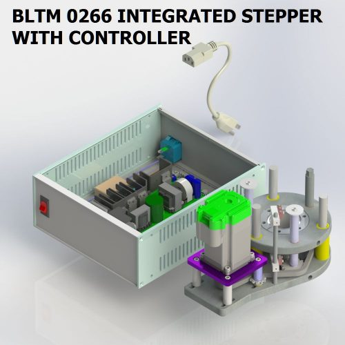 BLTM 0266 INTEGRATED STEPPER AND CONTROLLER